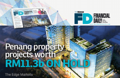 Penang property projects worth RM11.3b on hold