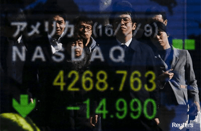 article global marketsyen slips after trumpabe meet asian shares firm