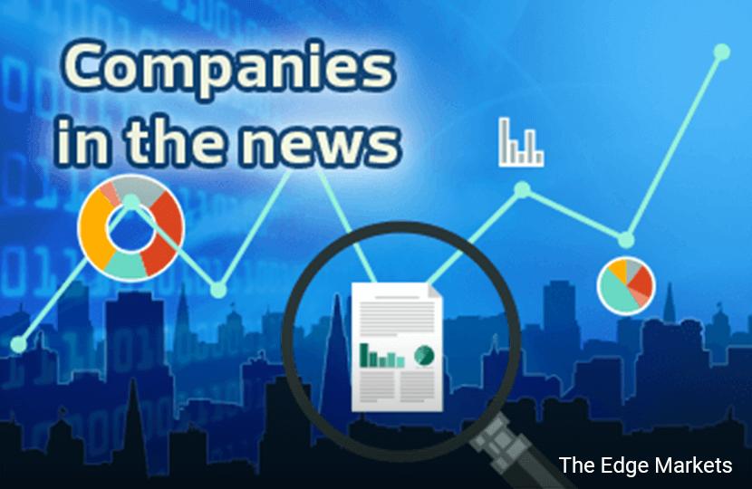 Axis REIT, F&N, Ekovest, Pavilion REIT, Ajiya, Destini, TH Heavy Engineering, MMC Corp, UMW Oil & Gas, UMW Holdings and Versatile Creative