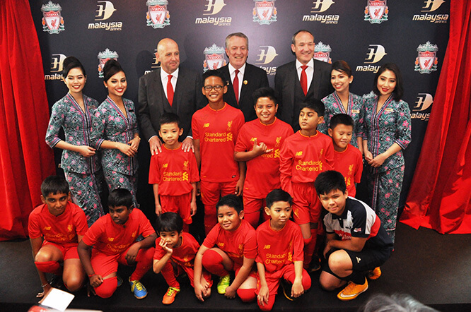 Liverpool look to grow Asian fanbase with Malaysia Airlines deal