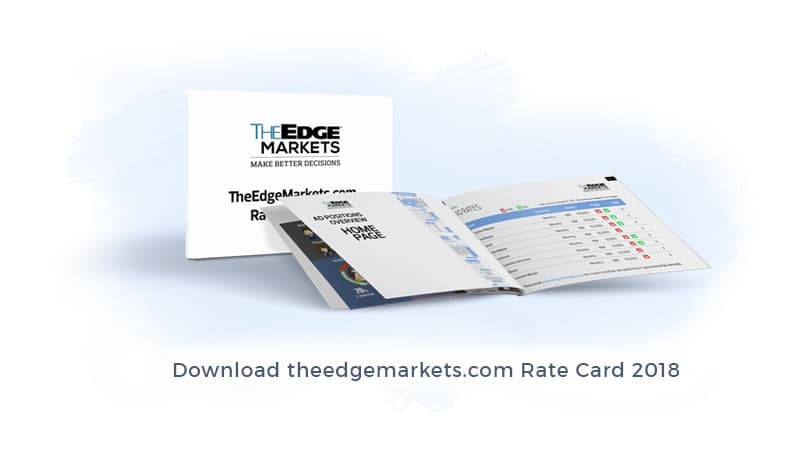 theedgemarkets.com Rate Card 2018