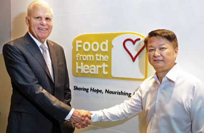 Food from the Heart, Ronald Stride, Anson Quek