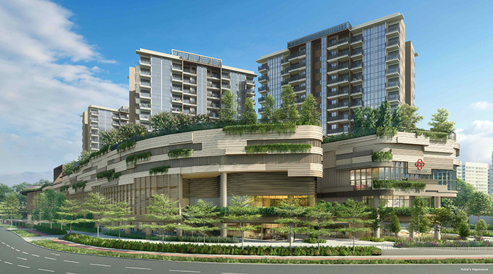 CapitaLand, CDL preview Sengkang Grand Residences venture