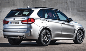 BMW-X5-M_Rear-View