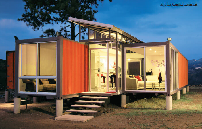 transforming shipping containers into buildings the edge markets. Black Bedroom Furniture Sets. Home Design Ideas