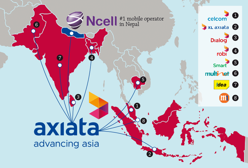 Axiata to buy 80% stake in Nce...