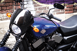 The Street 750 is Harley's most popular motorcycle in Asia.
