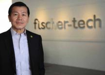 Fischer Tech president and CEO Peter Tan