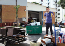 Daniel Wong, Digitising the 'karang guni' business