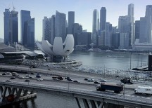 Photo of Singapore from Bloomberg