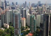 Singapore home prices