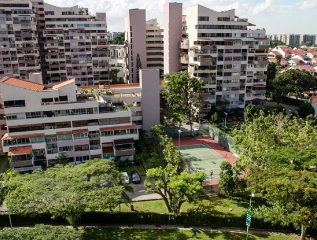 Singapore's hot-again housing market paying dividends for DBS