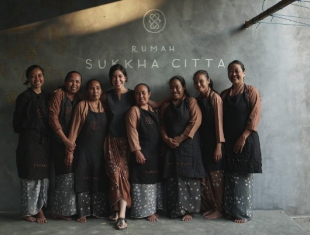 Denica Riadini-Flesch sets up social enterprise company SukkhaCitta that reinterprets Indonesian textile heritage and along the way it empowers women artisans in villages to earn a living from their craft and sustain their culture