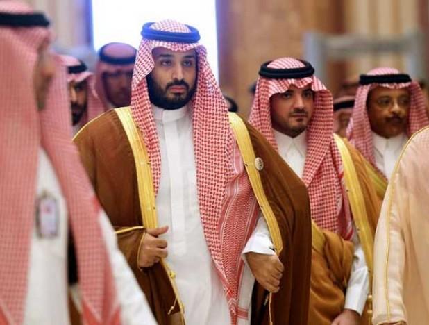 Crown prince, Mohammed bin Salman