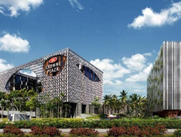 OUE Hospitality Trust Crowne Plaza Extension