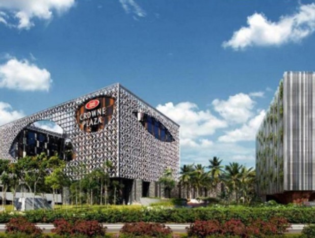 OUE Hospitality Trust (OUE H-Trust) Crowne Plaza Changi Airport (CPCA) extension