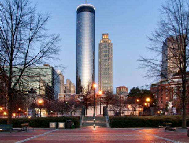 Peachtree in Atlanta