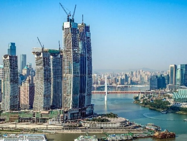 CapitaLand announces topping out of Raffles City Chongqing; says on track to open by 2H19