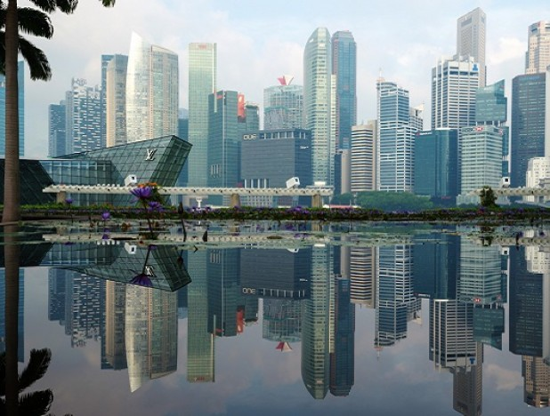 Singapore's office market is buzzing, for now