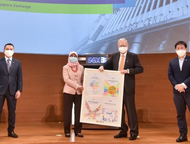 SGX Bull Charge raises $3.63 mil for beneficiaries through virtual charity run - THE EDGE SINGAPORE