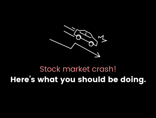 What to do during a stock market crash