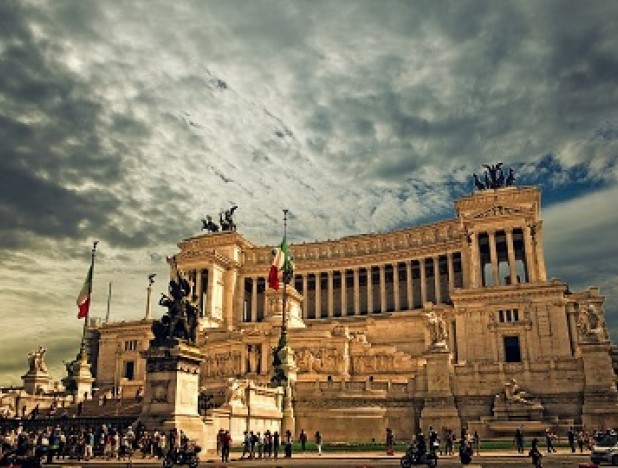 Vittorio Emanuele monument, Italy