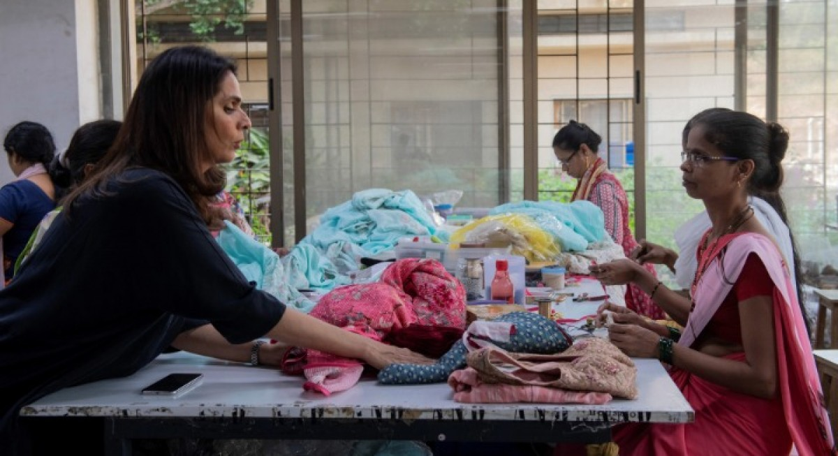 Meet India's Anita Songre: A feminist fashion icon fighting for sustainability