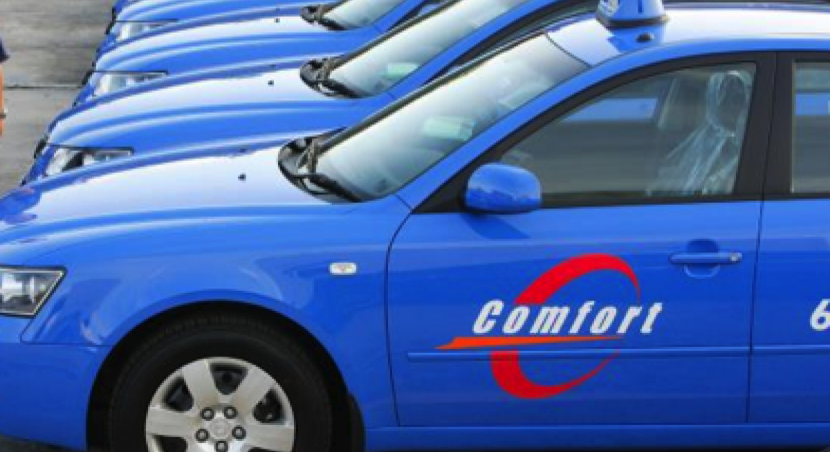 ComfortDelGro taxis Government Bus Contract model