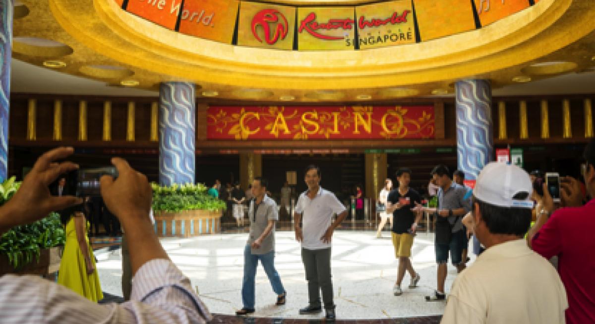 Resorts Wolrd Sentosa logo
