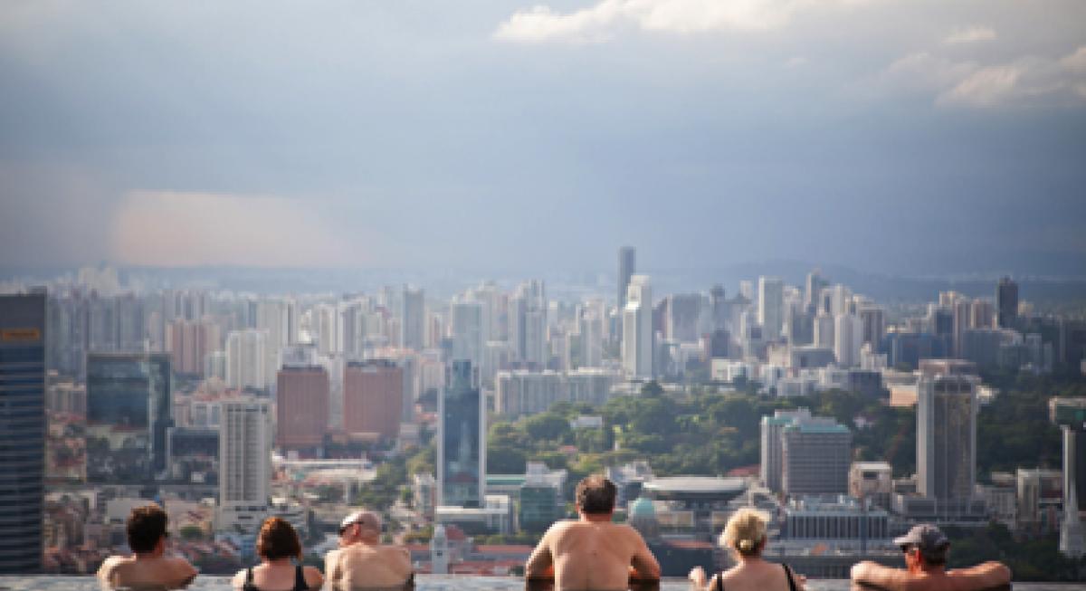 Singapore tourists
