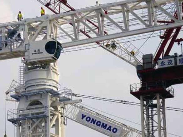 Tower Crane | The Edge Singapore