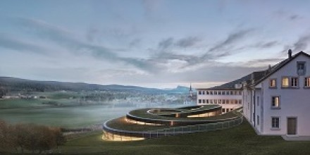 The Musée Atelier Audemars Piguet brings together architectural innovation related to manufacturing and cultural projects