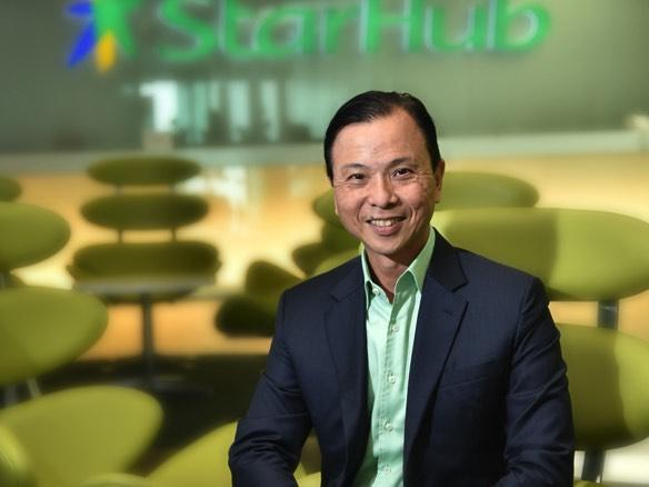 Starhub CEO Tan Tong Hai